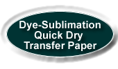 dye sublimation quick dry transfer paper