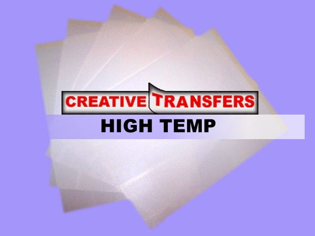 Laser Hight Temp Plus  Heat Transfer Paper for Light-Color Garments, T-Shirts & Fabrics