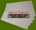 "Heat Transfer Paper Inkjet Soft Jet Dark 25 Sheets 8.5"" X 11"""