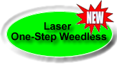 laser one step weedles