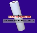 "One roll Jet Pro Soft Stretch Transfer Paper Rolls 13""X10' Click here for more info"