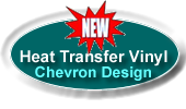 heat transfer vinyl chevron design